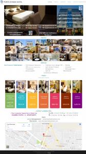 "Creation de site web oran algerie - Hotel et Appartements ""Porte d'Oran Hotel"""