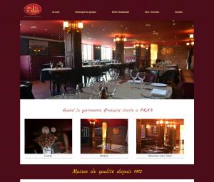 """Creation de site web oran algerie - Restaurant """"Relais de Paris"""""""