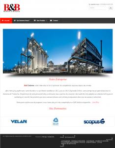 """Creation de site web oran algerie - Fourniture des Machines Industrielles """"BNB Industry"""""""