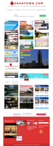 "Creation de site web oran algerie - Guide de la Ville d'Oran""Oran Town"""