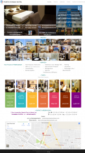 "Creation de site web oran algerie - Hotel et Appartements ""Porte d'Oran Hotel"""