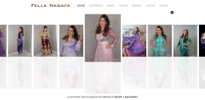 "Creation de site web oran algerie - Couturière ""Fella Negafa"""